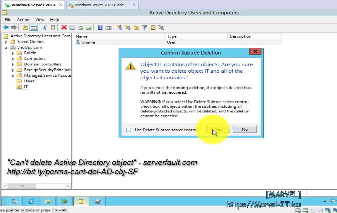 7 1 Backup Active Directory Windows Server 2008 R2 domain DC | IADDSWSE - Implementing AD Domain Services on a Windows Server Environment