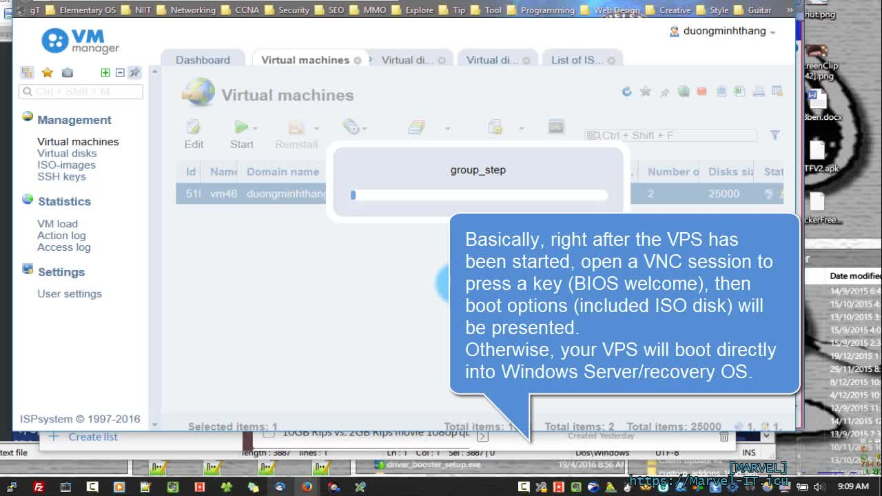 WINDOWS VPS Part 3 the custom Win 7 OS ISO image ProfitServer VDS 1GB unlimited bandwidth 3 x USD | ProfitServer-Ready cheap Windows-Linux virtual servers VPS in 10 minutes