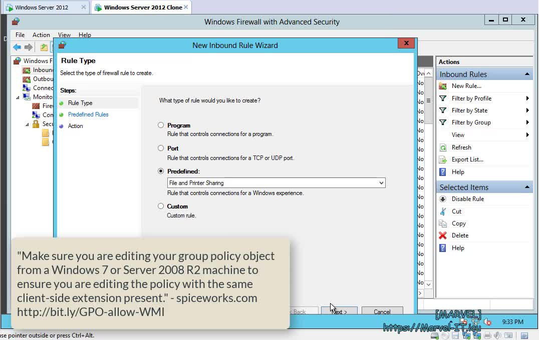 3 2 1 Verify the application of Group Policy Part 1 Intro and Prepare GPOs Windows Server 2012 | IADDSWSE