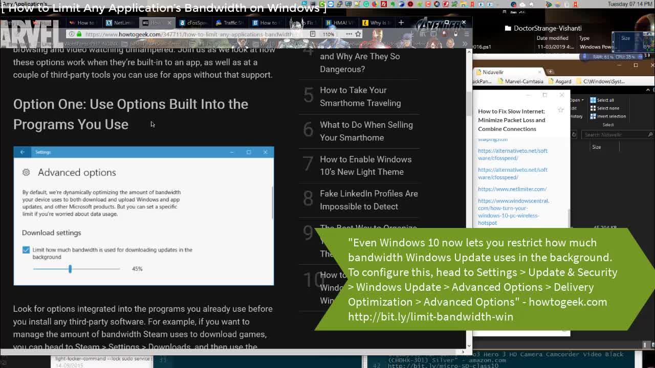 cFosSpeed Traffic shaping Network bandwith limiter Wi Fi hotspot Windows 10 Fix slow Internet | Windows 10 Server 2019