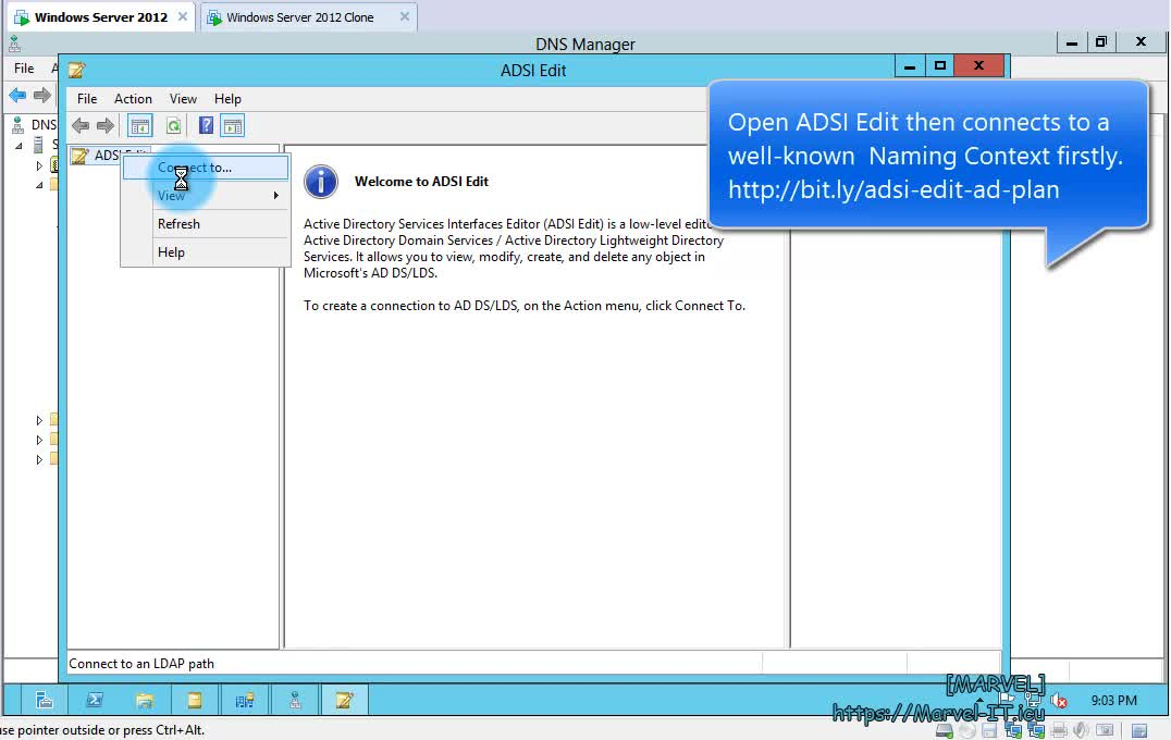 6 2 Configure the Global Catalog GC UMGC examine directory partitions AD DNS zones WS 2012 | IADDSWSE