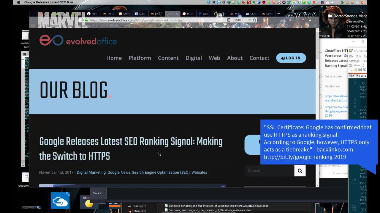 CloudFlare HTTPS Flexible WordPress Google Releases Latest SEO Ranking Signal 2019 | WordPress-PHP-NGINX