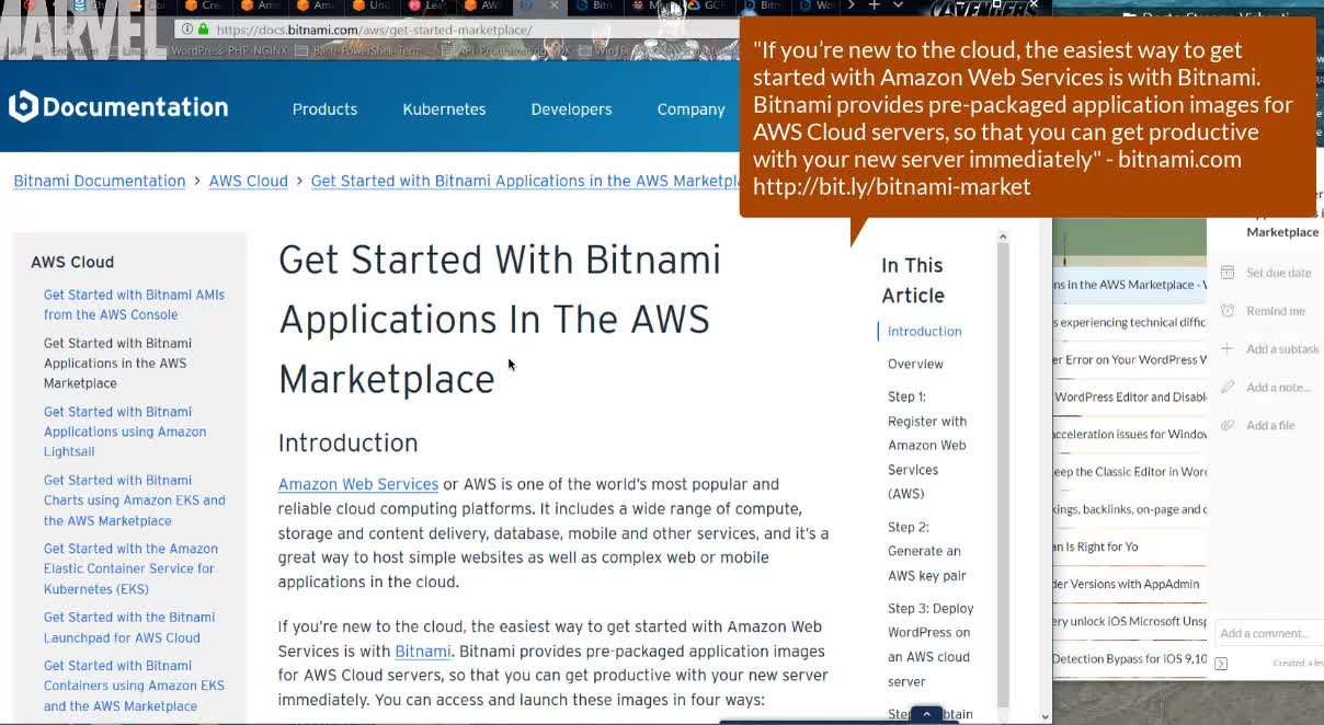 EC2 Free Tier Bitnami Applications in AWS Marketplace WordPress Apache MySQL PHP FPM Google GCP | VPS-Domain-Hosting