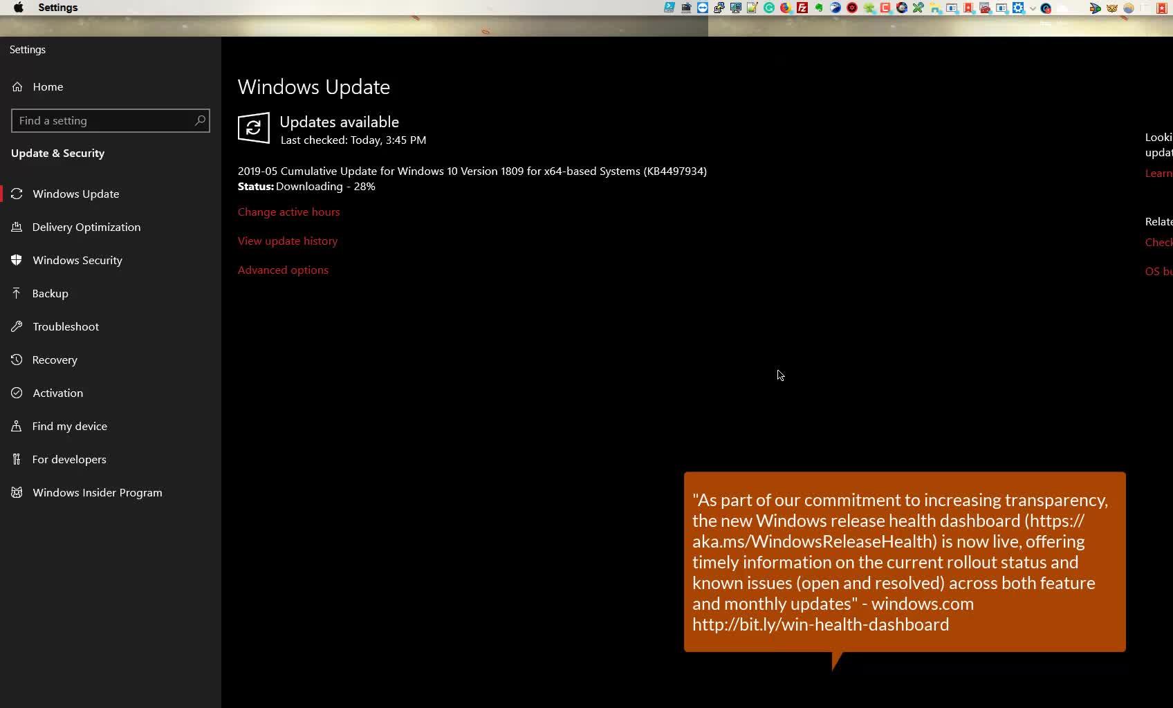 Windows 10 RTM 1903 build 18362 Upgrade or Switch to LTSC Pro Education Workstations KB4497934 | Windows 10 Server 2019